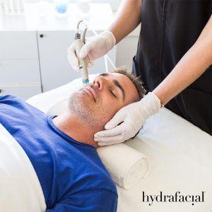 Hydrafacial Behandlung Frankfurt Mann