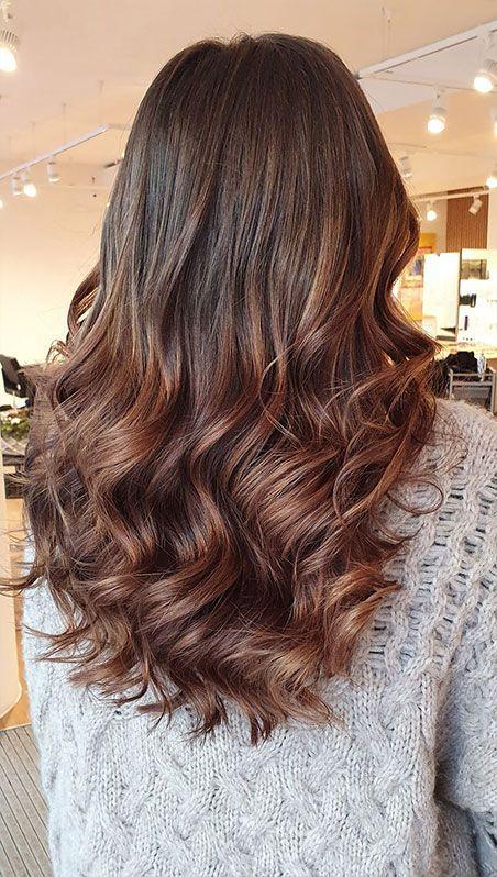 Braune haarsträhnen haare für Braune Haare